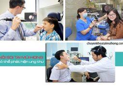 Nội soi tai mũi họng có phát hiện ung thư không?