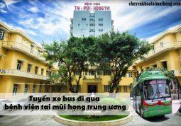 Tuyến xe bus đi qua bệnh viện tai mũi họng trung ương