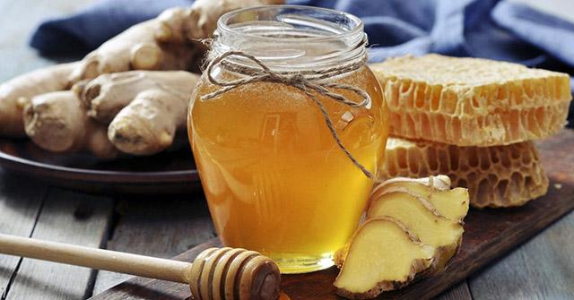 Chữa viêm họng hạt bằng gừng và mật ong