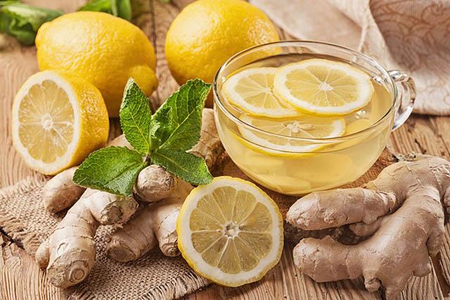 Kết hợp gừng - chanh - mật ong chữa viêm họng hạt