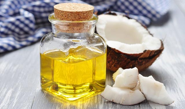 cách chữa viêm họng bằng dầu dừa