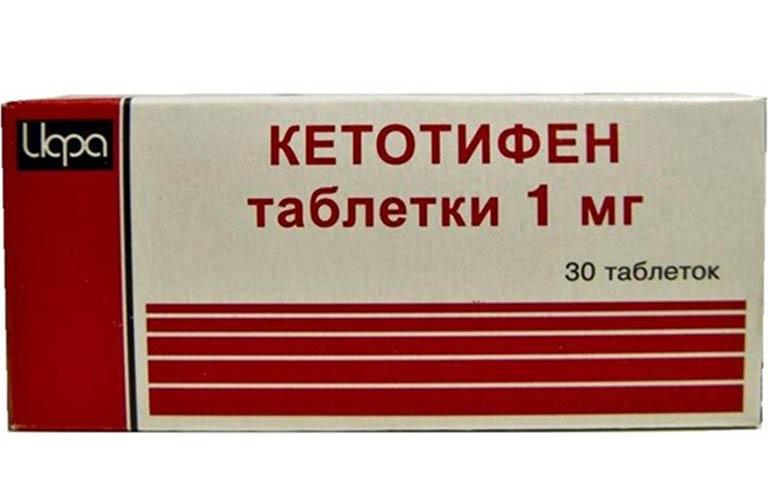 Thuốc Ketotifen