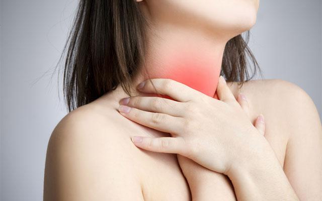triệu chứng viêm họng hạt mãn tính