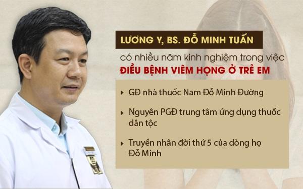 Lương y Đỗ Minh Tuấn - GĐ chuyên môn, truyền nhân đời thứ 5 dòng họ Đỗ Minh
