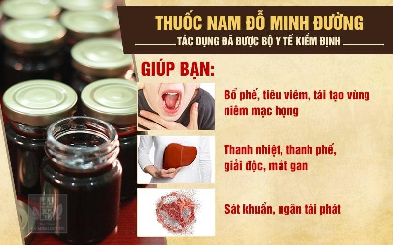 Hiệu quả chữa viêm phế quản của bài thuốc Nam gia truyền dòng họ Đỗ Minh đã được Bộ y tế kiểm chứng