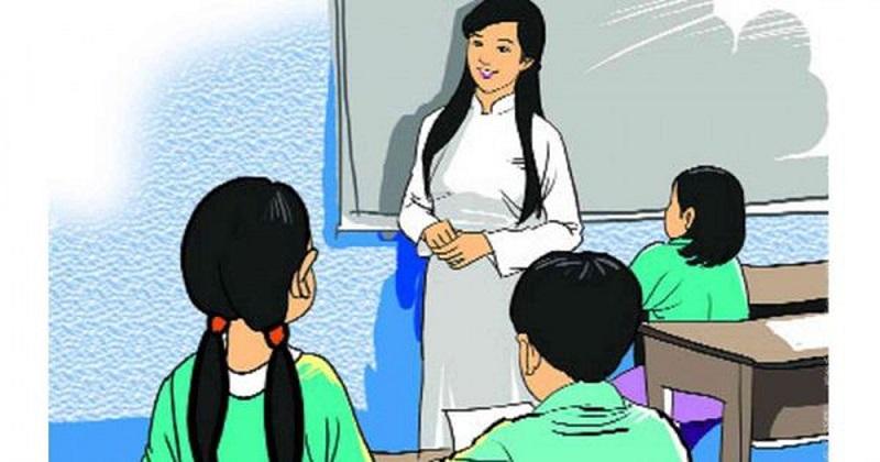 Cô Hương là một giáo viên tâm huyết trên bục giảng (ảnh minh họa)