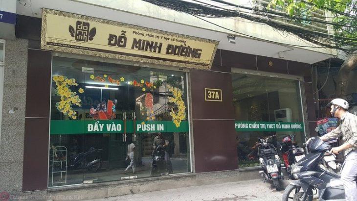 Nhà thuốc Đỗ Minh Đường cơ sở Hà Nội - nơi anh Chức đến khám