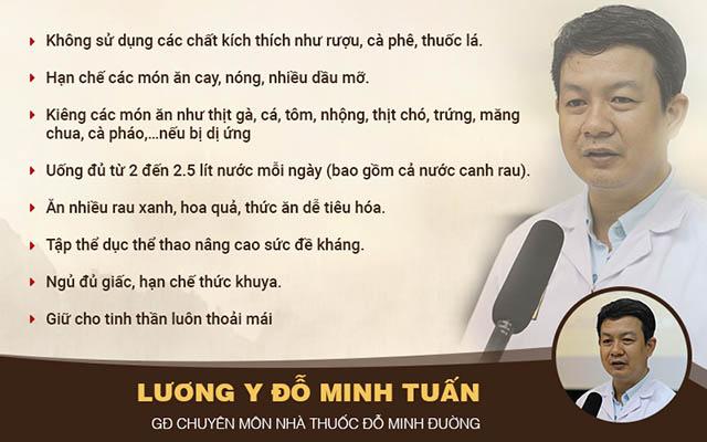 Lương y Đỗ Minh Tuấn đưa ra lời khuyên cho bà bầu bị viêm mũi dị ứng