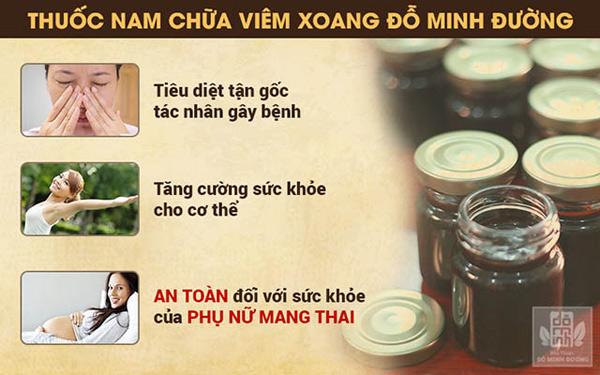 Bài thuốc chữa bệnh viêm xoang gia truyền của nhà thuốc Đỗ Minh Đường