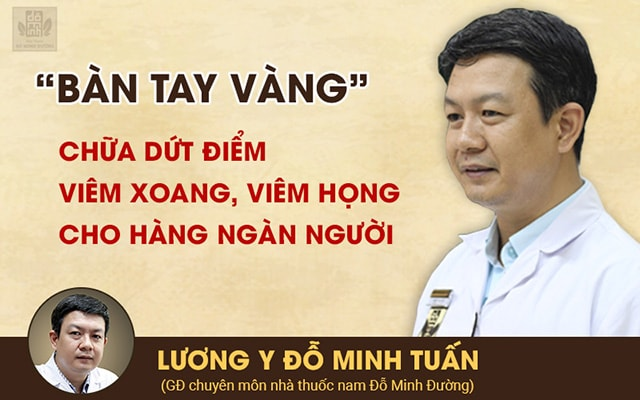 Lương y Đỗ Minh Tuấn - GĐ chuyên môn nhà thuốc Đỗ Minh Đường, cố vấn chữa viêm xoang