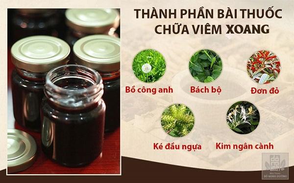 Thành phần một số thảo dược quý trong bài thuốc viêm xoang dòng họ Đỗ Minh