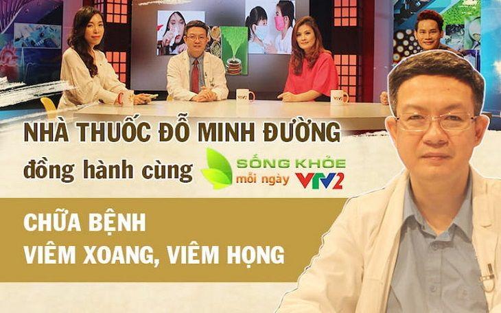 Lương y Tuấn giới thiệu bài thuốc chữa viêm xoang trên sóng truyền hình