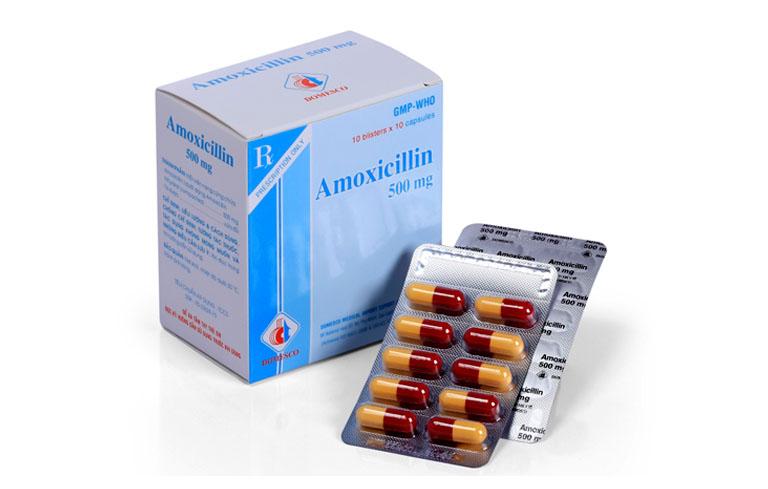 Bị viêm xoang uống thuốc gì? – thuốc kháng sinh Amoxicillin