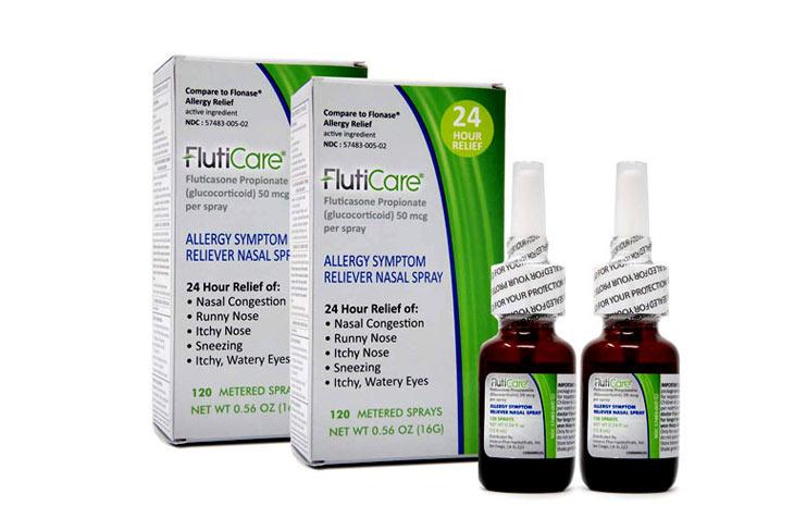 Thuốc xịt mũi fluticasone chữa viêm xoang hiệu quả