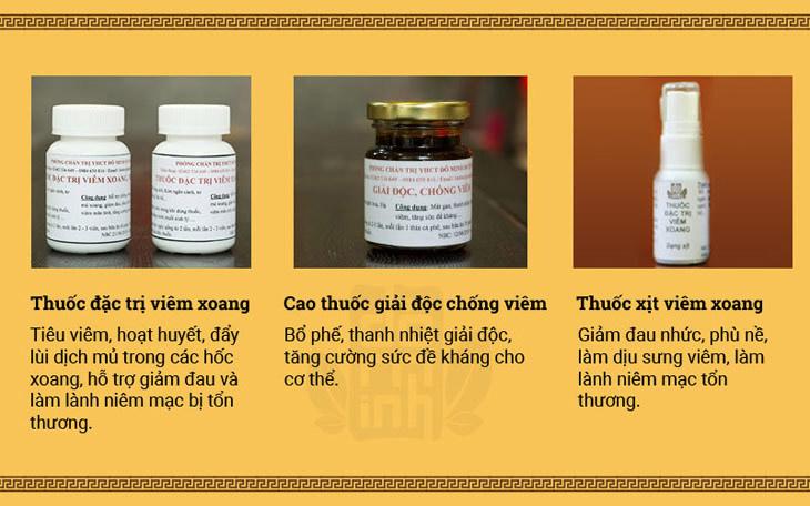Liệu trình đầy đủ bài thuốc viêm xoang – viêm mũi dị ứng Đỗ Minh